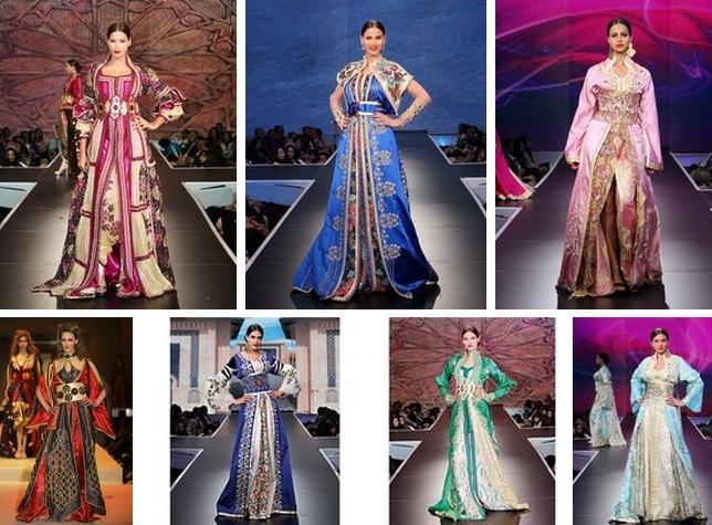 Марокканские свадебные платья